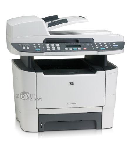 На фотографии LaserJet MF2727nf - базовая комплектация без электронного стэпплера и дополнительного лотка для бумаги