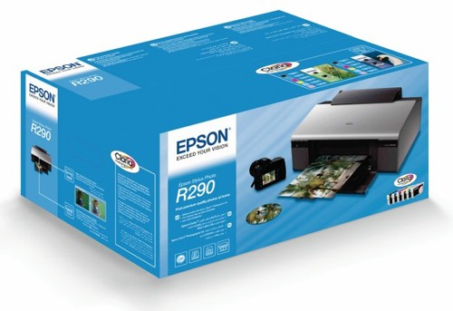 Упаковка Epson Stylus Photo R290