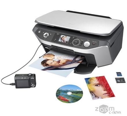 Epson Stylus Photo RX590 печатает фотографии по качеству не уступающие отпечаткам из фотолаборатории