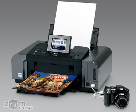 Canon PIXMA iP6700D – принтер с 6-цветныой системой печати, обеспечивает очень высокое качество отпечатков, не уступающее сделанным в лаборатории