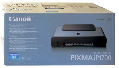 Упаковка Canon PIXMA IP1700