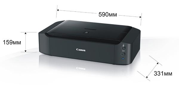 Размеры Canon IP8740