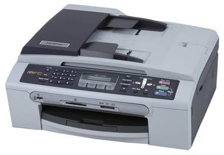 Brother MFC-240C, помимо всего прочего, обладает и функциональностью факса