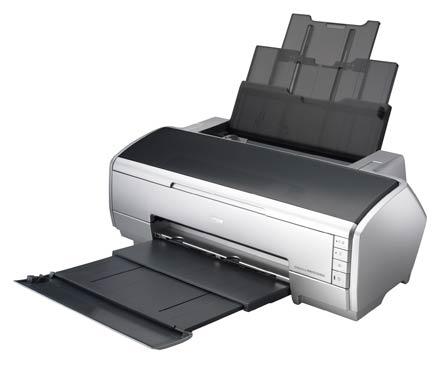 Epson Stylus Photo R2400 – серьезный аппарат, идеально подходящий для печати черно-белых фотографий