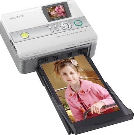 Sony DPP-FP55 – компактный принтер со строгим дизайном