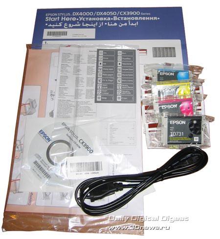 Комплект Epson CX3900