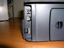 Разъемы: USB, питания, Ethernet