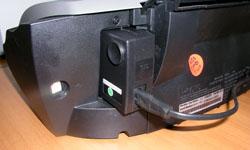 Принтер подключается только к порту USB