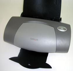 Color Jetprinter Z705 готов к работе