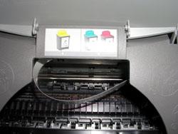 Заменой картриджа Color Jetprinter Z705 превращается в фотопринтер