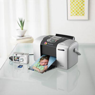 В технологичном интерьере принтер смотрится как дома