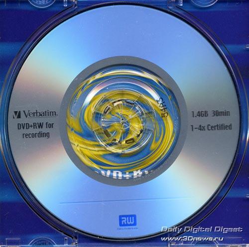 Verbatim DVD+RW 8cm 4x