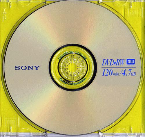 SONY DVD+RW 4x