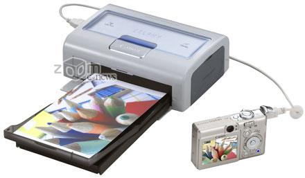Компактный принтер может выдавать отличные фотокарточки
