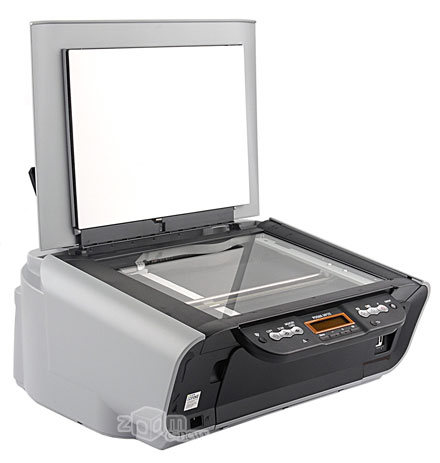 Пока закрыта крышка сканера, кажется что МР170 – это простой принтер