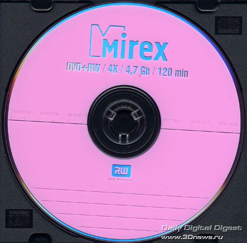 Mirex DVD+RW 4x
