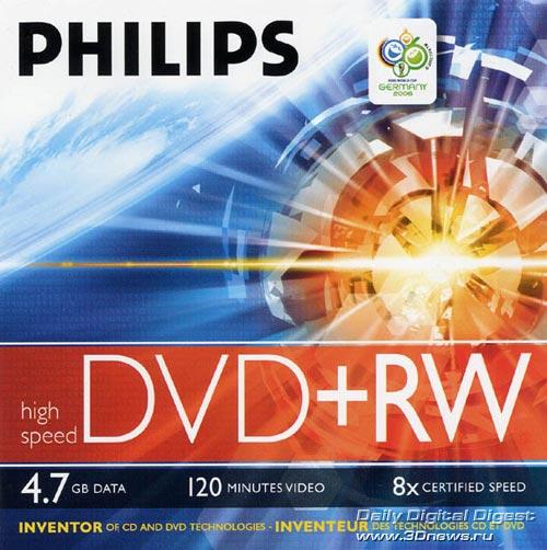Philips DVD+RW 8x