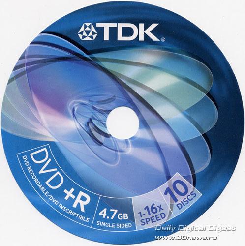 TDK DVD+R 16x