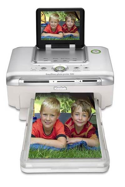 Kodak Easyshare P500 отличается богатыми коммуникационными возможностями