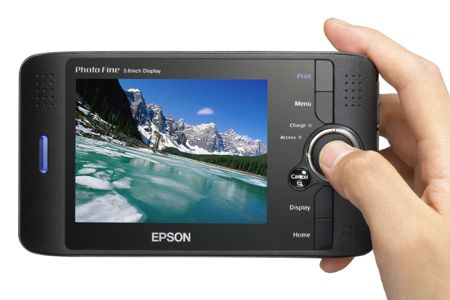 Epson P-4000 Multimedia Storage Viewer