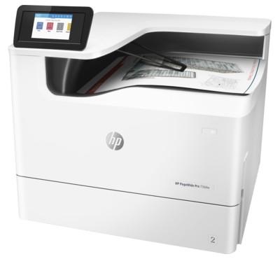 Принтер HP PageWide 750dw с неподвижной печатающей головкой