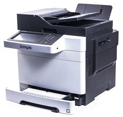 Цветное МФУ Lexmark CX510de, лоток для бумаги