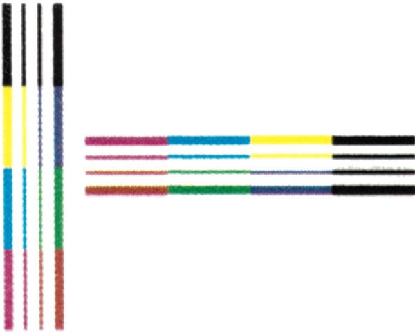 Lexmark CX510de, качество печати