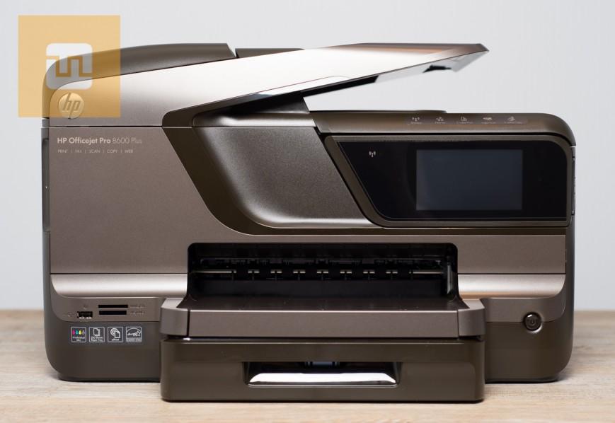 Передняя панель HP OfficeJet Pro 8600 Plus