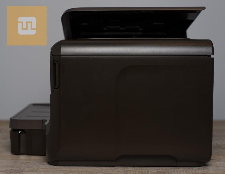 Левая сторона HP OfficeJet Pro 8600 Plus