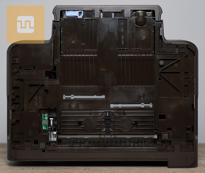 Нижняя сторона HP OfficeJet Pro 8600 Plus