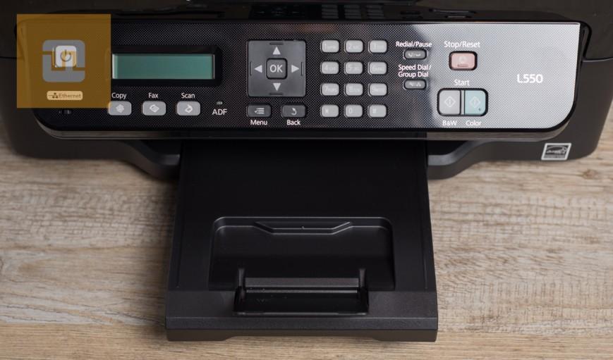 Панель управления Epson L550