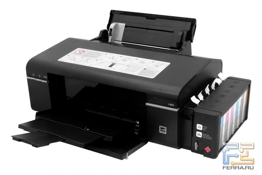 Epson L800 очень похож на T50