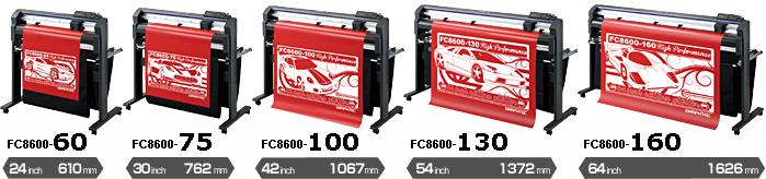 Режущие плоттеры Graphtec FC8600