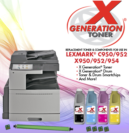 тонер Lexmark X950