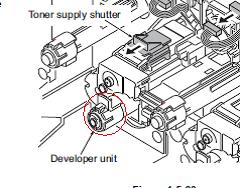 Решение проблем с блоками проявки TASKalfa 3050ci/3550ci/4550ci/5550ci