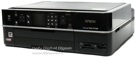 Epson Stylus Photo TX710W. Вид общий