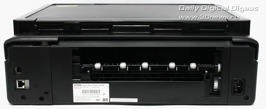 Epson Stylus Photo TX710W. Вид сзади
