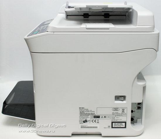 OKI MC160n. Вид справа