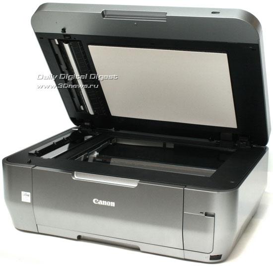 Canon PIXMA MX870. Вид общий с открытой крышкой сканера