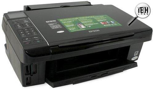 Epson Stylus TX550W. Внешний вид