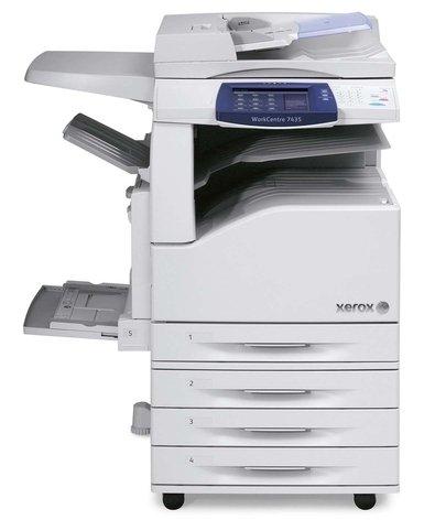 XEROX WorkCentre 7435. Внешний вид