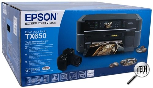 Epson Stylus Photo TX650. Упаковка