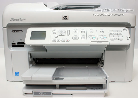 HP Photosmart Premium c309a. Вид спереди