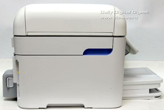 HP Photosmart Premium c309a. Вид слева
