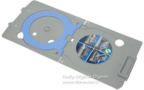 HP Photosmart Premium c309a. Держатель дисков
