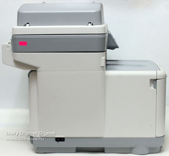 OKIMC360. Вид слева