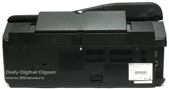 EPSON Stylus Office TX510FN. Вид сзади
