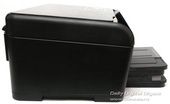 HP Photosmart Plus b209a-m. Вид справа
