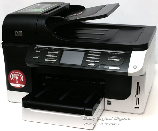 HP Officejet Pro 8500 Wireless (a909g). Вид общий