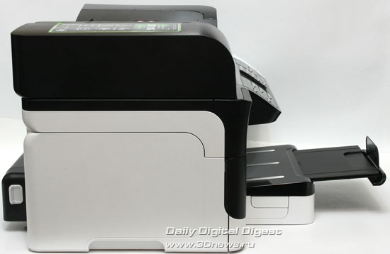 HP Officejet Pro 8500 Wireless (a909g). Вид слева